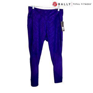 Bally Total Fitness Women High Rise Ankle Leggings